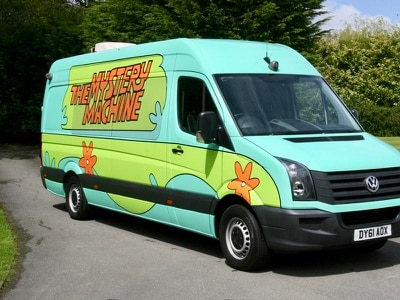 Former One Direction tour van heading to auction