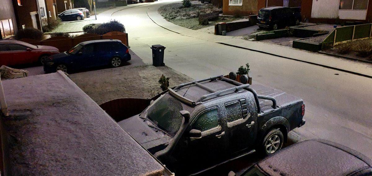 Snow in Stirchley, Telford. Photo: Jase Garton.