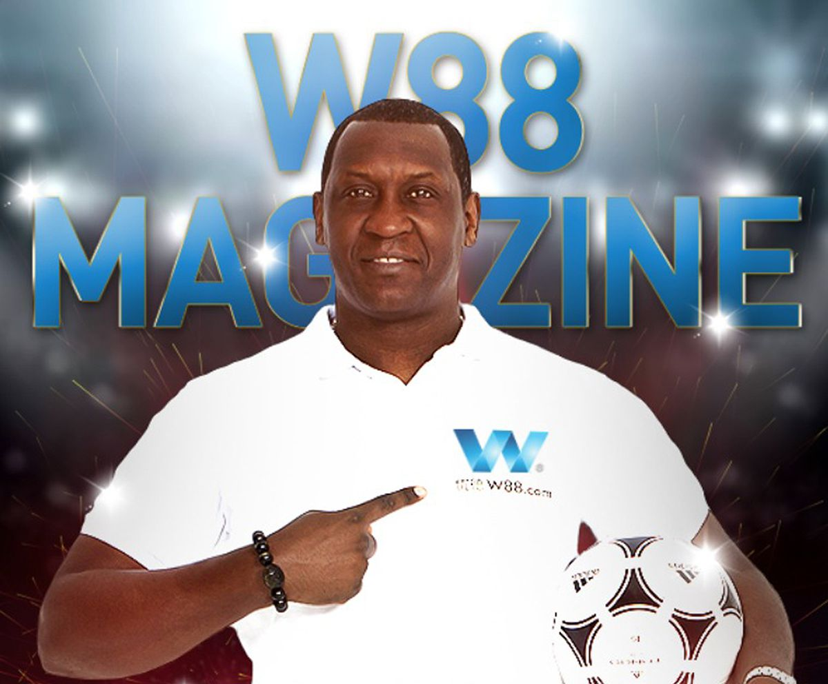W88's brand ambassador is former England and Liverpool player Emile Heskey