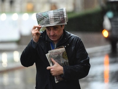 Rain and snow to continue overnight before UK cold snap eases