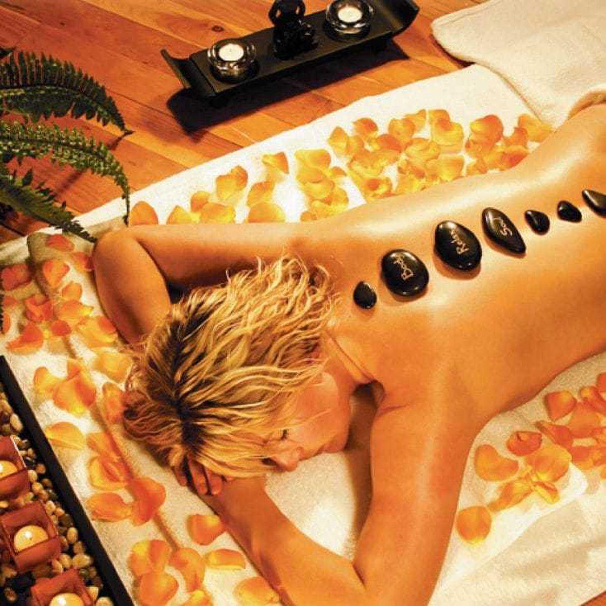 Hot Rocks Massage Stones gift set