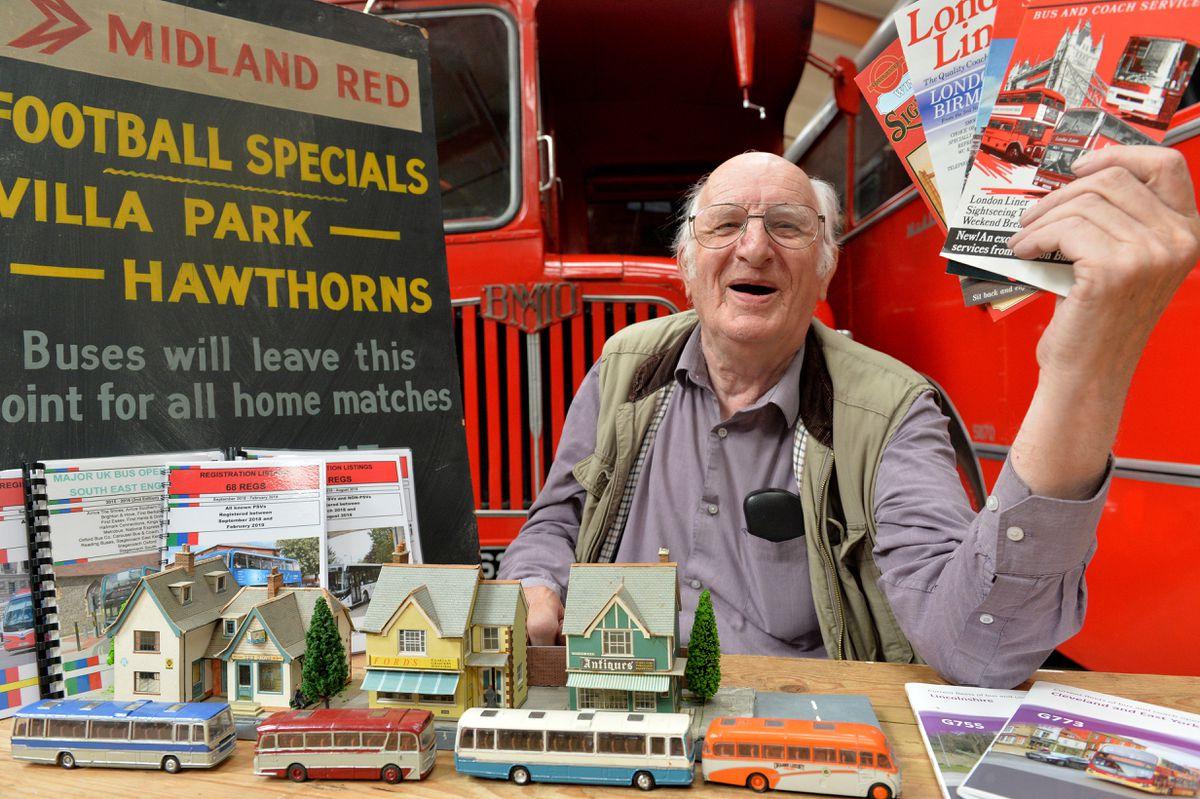 Museum secretary Alan Bishop