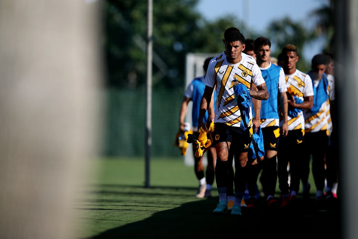 Wolves prepare for the game (Getty/Wolves)