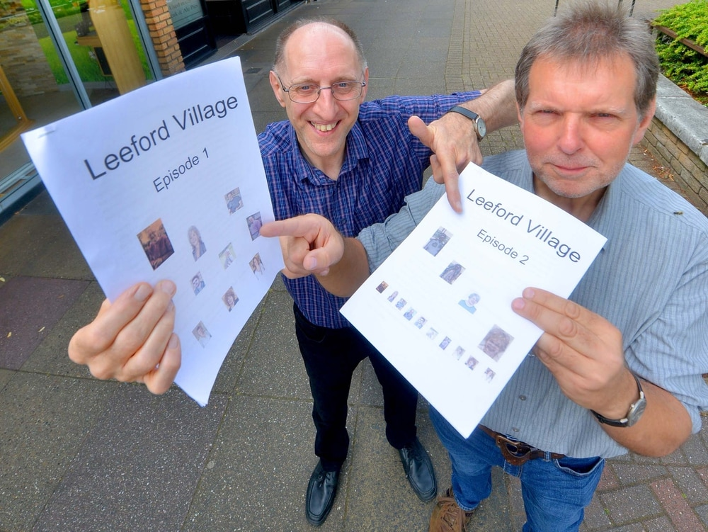 Leeford Village co-author gives insight into serial drama at library event