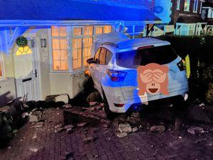 The crash. Photo: Haden Cross Fire Station
