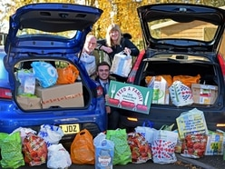 Food mountain boost for Christmas appeal
