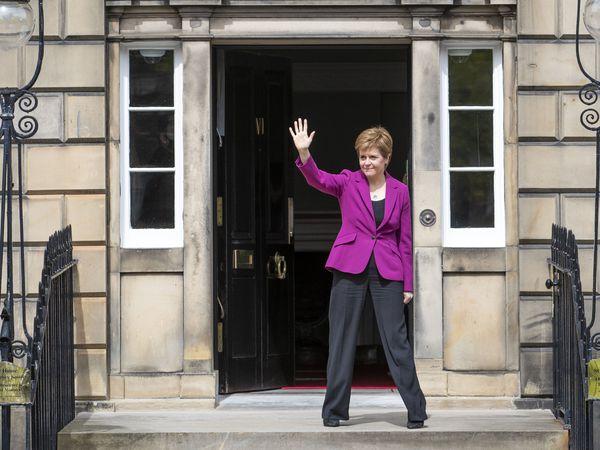 Scottish First Minister and SNP leader Nicola Sturgeon