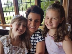 Isla, 8, raises £1,100 for charity after aunt's heart tumour