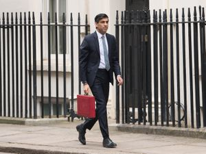 Chancellor of the Exchequer, Rishi Sunak outside 11 Downing Street, London, before heading to the House of Commons to deliver his Budget. Picture date: Wednesday March 3, 2021. PA Photo. See PA story POLITICS Budget. Photo credit should read: Stefan Rousseau/PA Wire.