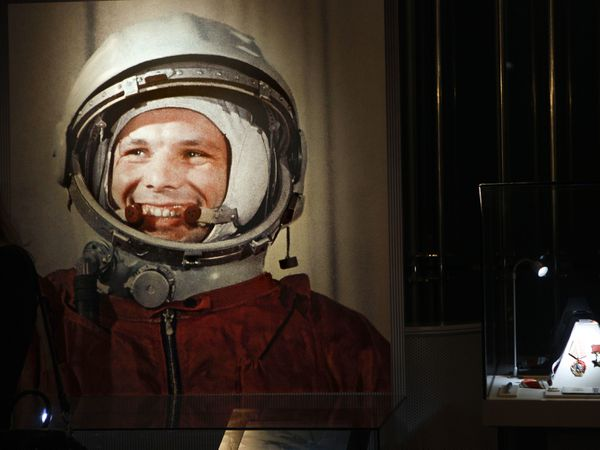 The astronaut with the winning smile – Yuri Gagarin