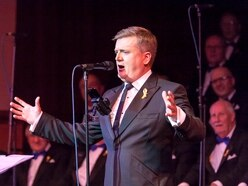 Aled Jones performs at Dudley Town Hall