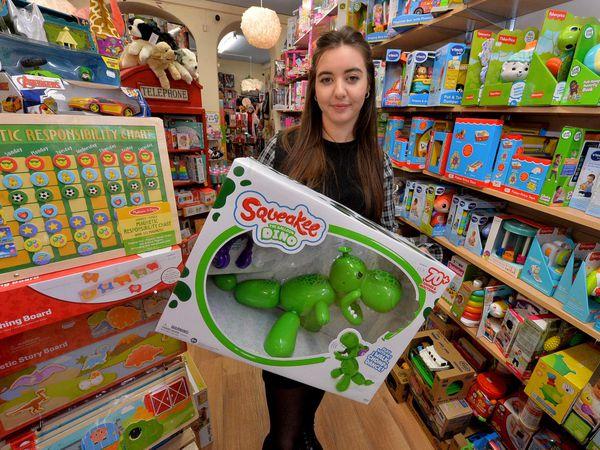 Jessica Preston of Alley Katz Toy shop in Bridgnorth says don't wait to do your Christmas shopping