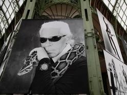 Stars pay tribute to Karl Lagerfeld at Paris memorial