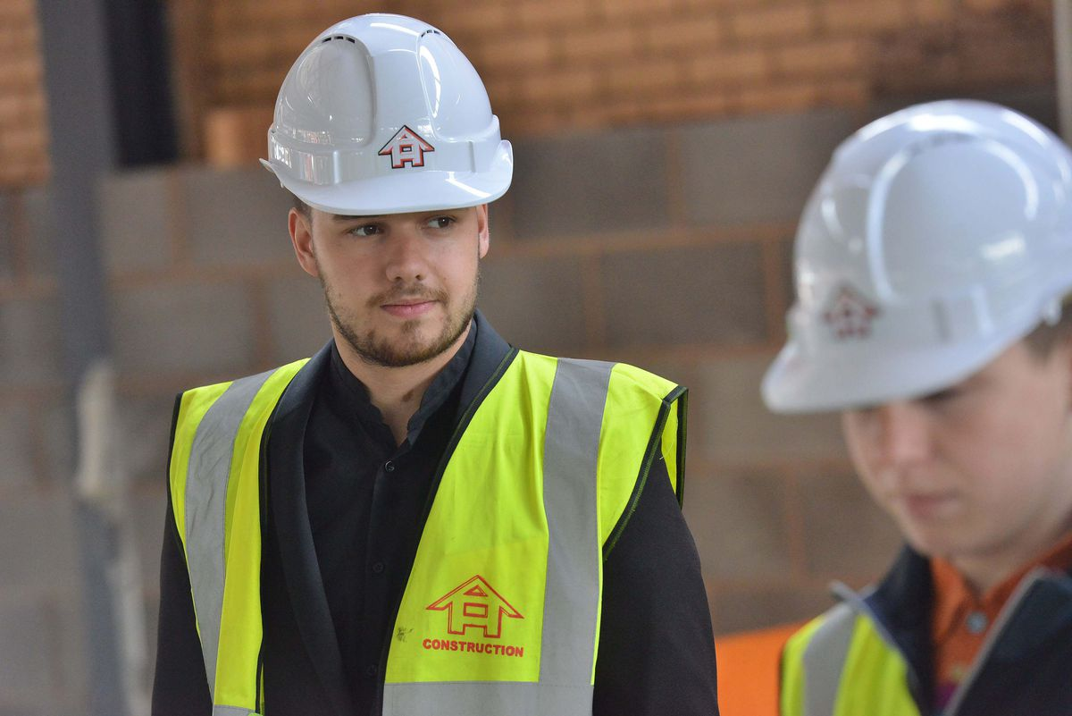 Liam Payne visiting The Way Youth Zone in Wolverhampton in 2015
