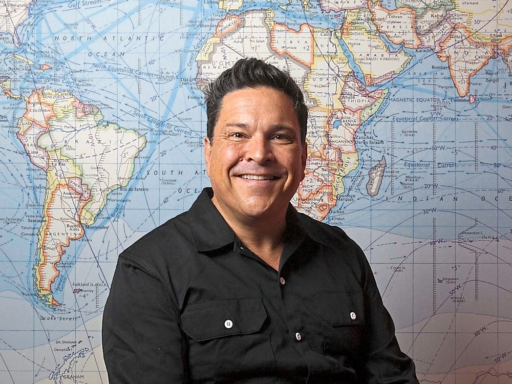 Dom Joly: Why travel helps TV star keep his finger on the trigger
