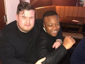 Brian McIntosh, left, and William Henry, right, were shot dead in Brierley Hill