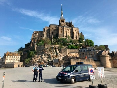 Mont-Saint-Michel open to visitors again after evacuation over 'threat'