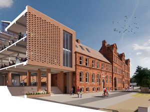 An artist's impression of how the building could look