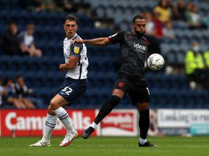 .Joshua Earl of Preston North End and Matt Phillips of West Bromwich Albion (Photo: WBA/Adam Fradgley)