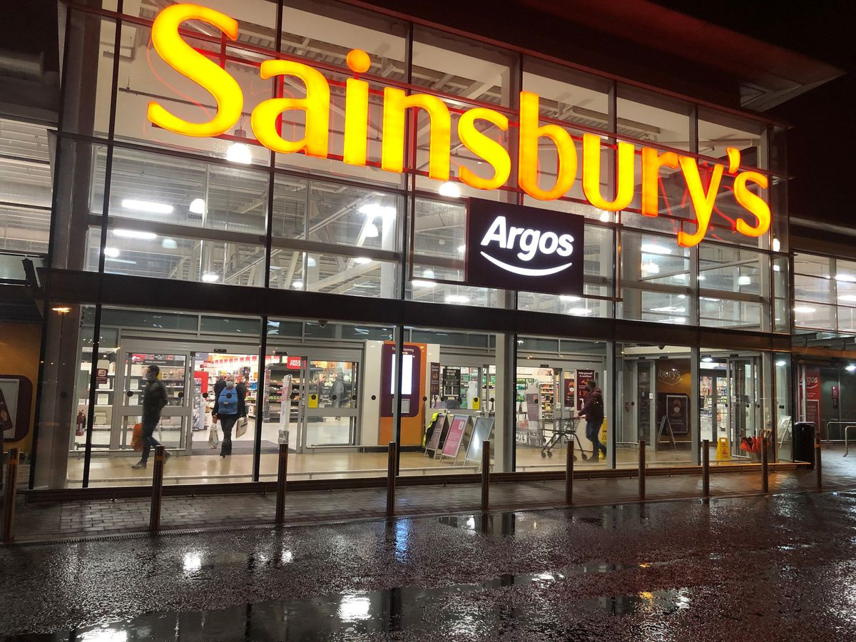 A Sainsburys and Argos store