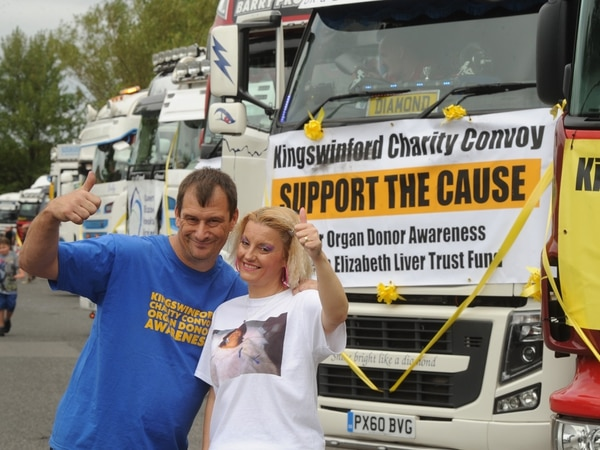 WATCH: Kingswinford Charity Truck Convoy rolls through the Black Country