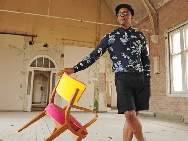 Furniture designer Jay Blades chats about his style in Wolverhampton city