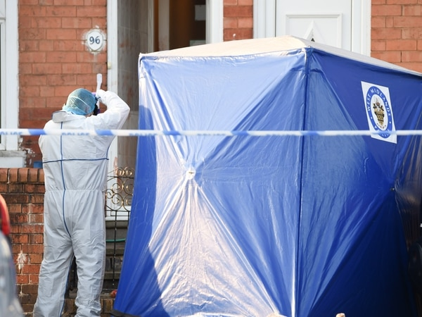 Man stabbed to death in Birmingham street disorder - with VIDEO