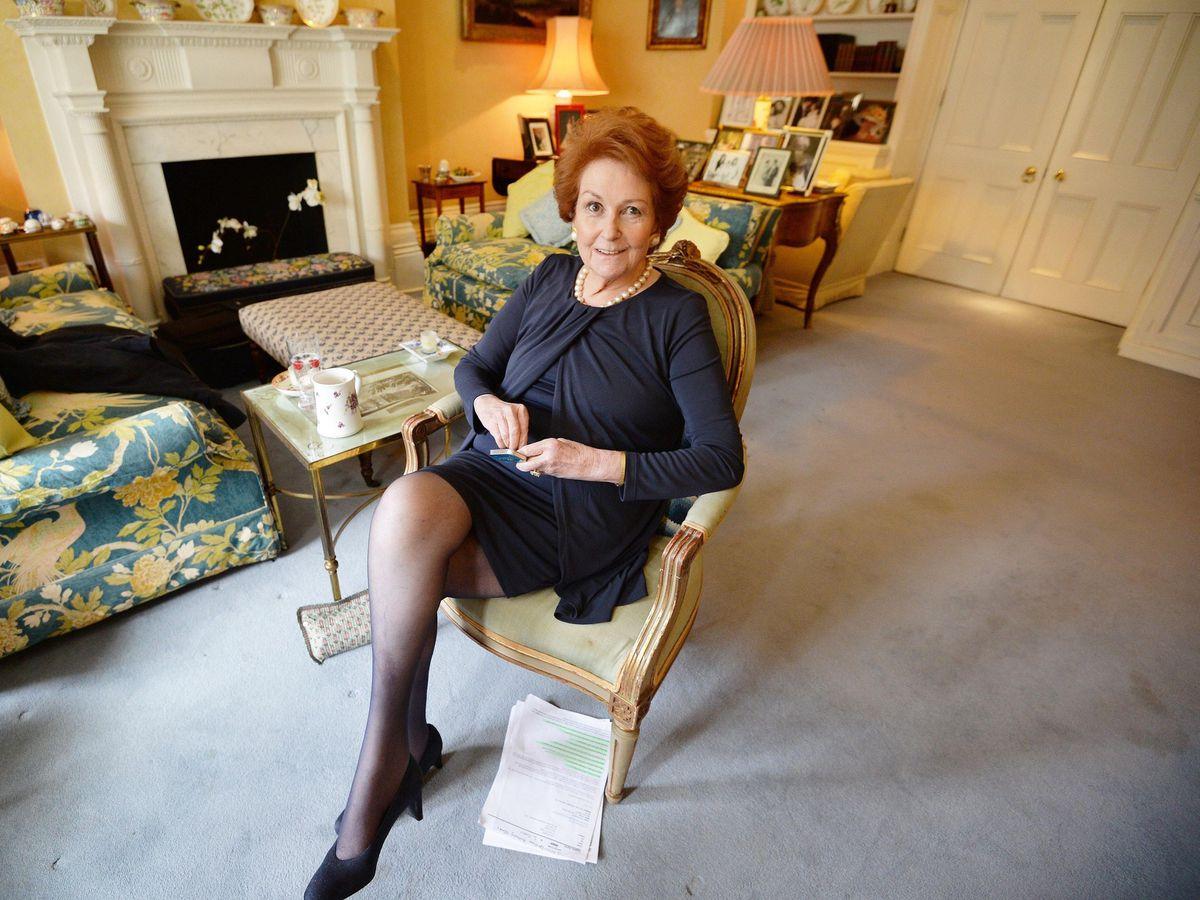 Queen's cousin Lady Elizabeth Shakerley dies aged 79