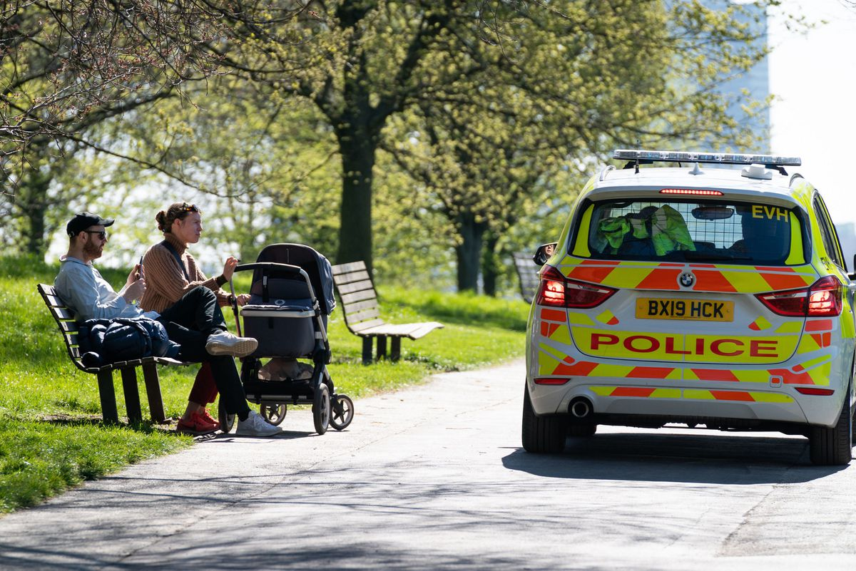 People are again allowed to relax outdoors and meet people from different households
