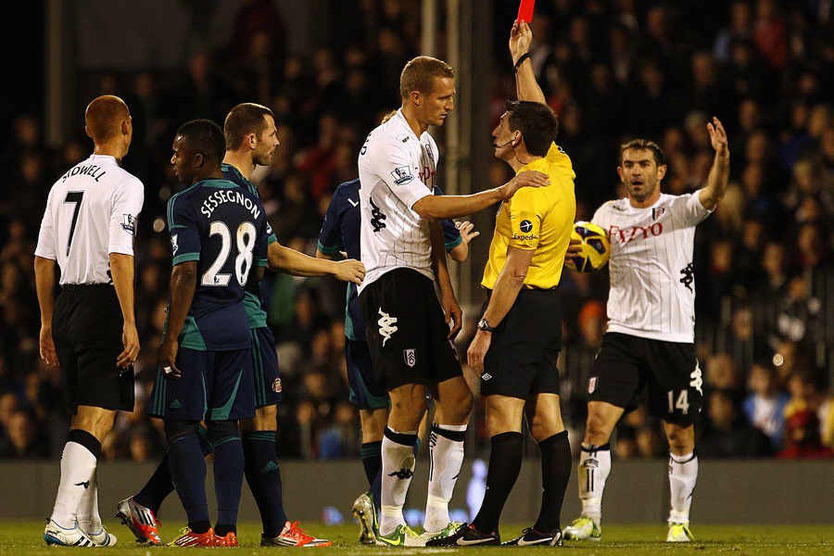 Gareth McAuley red card: Five worst cases of mistaken identity