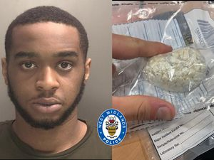 Amari Miller was caught with wraps of drugs worth nearly £2,000
