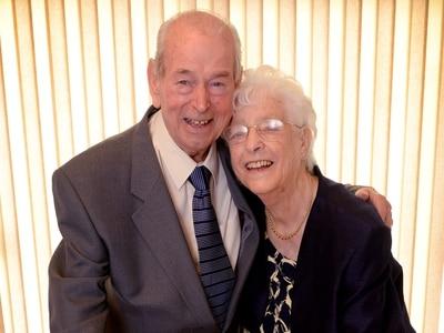 Couple mark 65th wedding anniversary