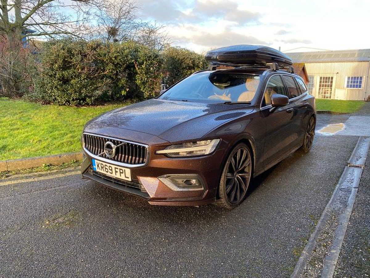 A large roof box expands on the car's practicality