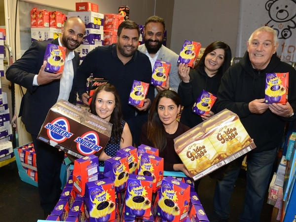 Sikh Toy Appeal gifts chocolate eggs to mark Easter and Vaisakhi in Wolverhampton