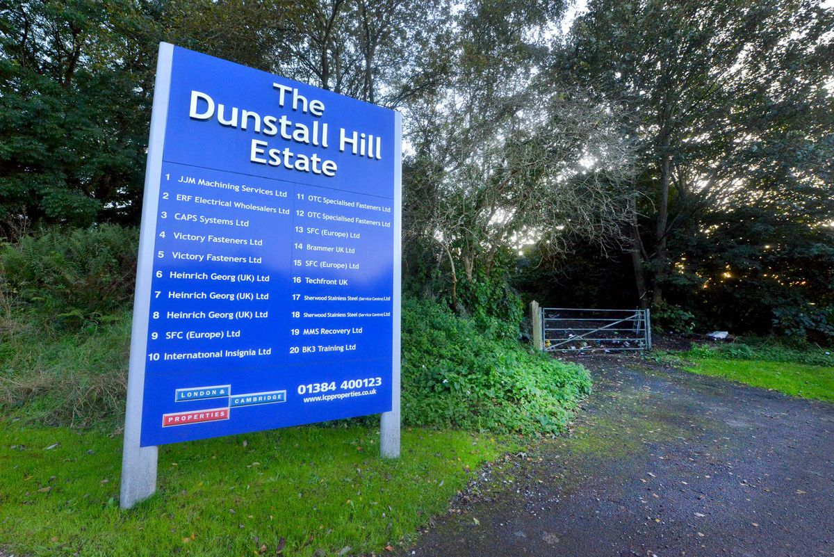 The land is next to the Dunstall Hill Trading Estate