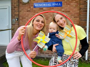 Pictured looking forward to the sessions are Councillor Beverley Momenabadi, Lisa Stallard and Lisa's son Billy aged five months