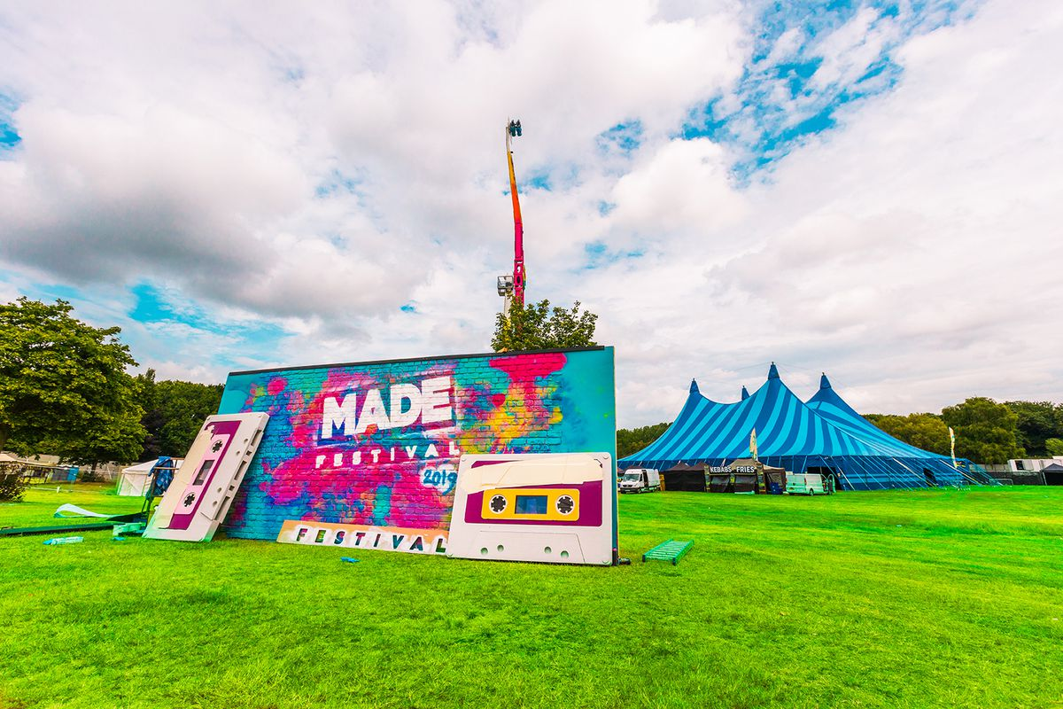 The last Made Festival at Perry Park in 2019