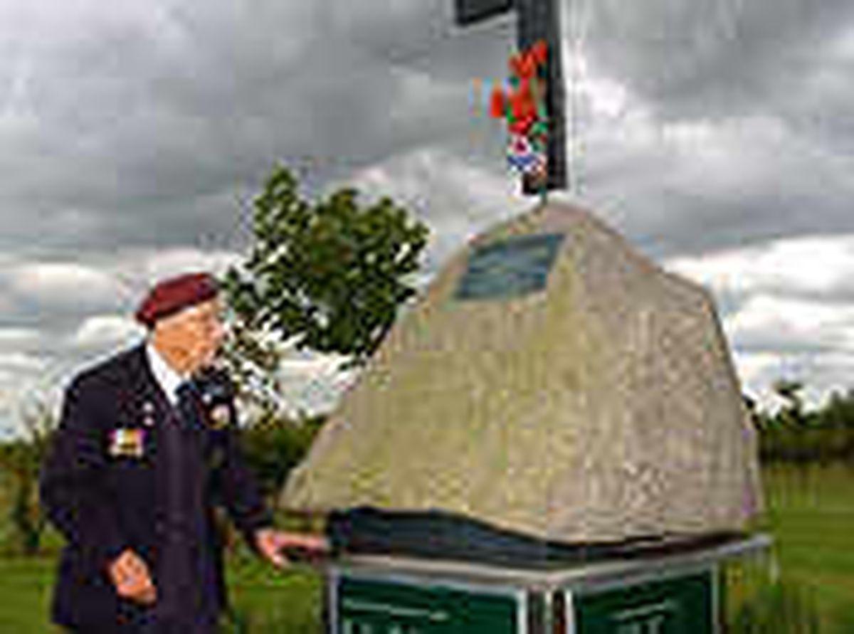 Veteran Len in tribute to brave villagers