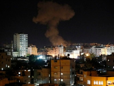 Israel and Hamas trade heavy fire after deadly Gaza incursion