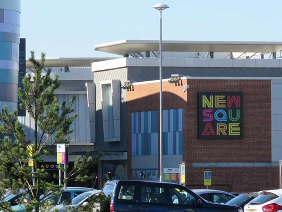 New Square shopping centre in West Bromwich