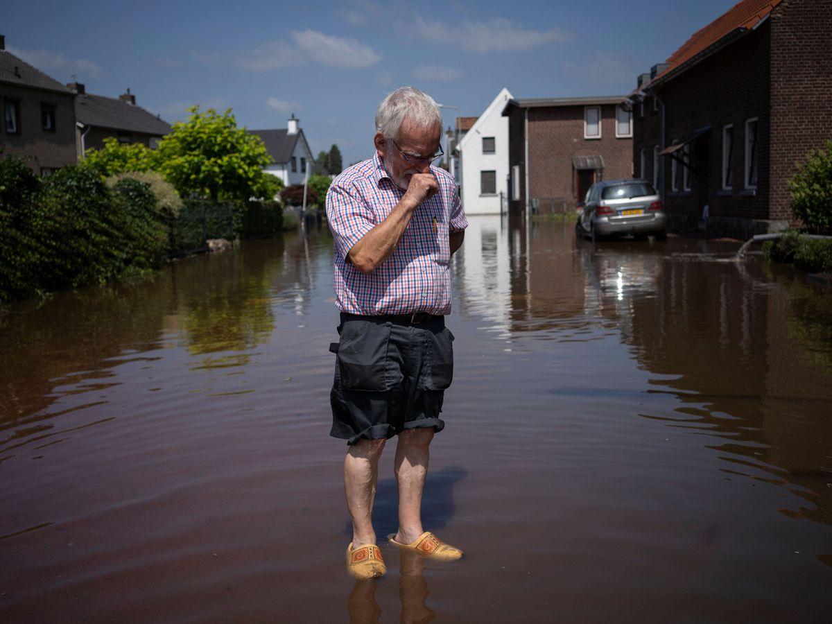 Netherlands Europe Floods