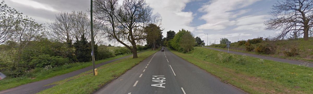 The A451 Minster Road. Photo: Google