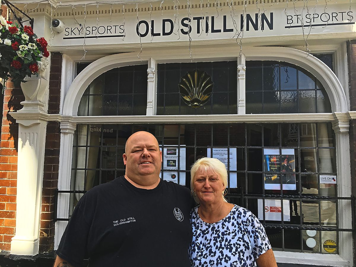 Karl and Sue Allen from the Old Still have seen a definite upturn in trade