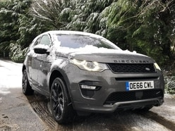 Our Land Rover Discovery Sport is a real winter warmer!