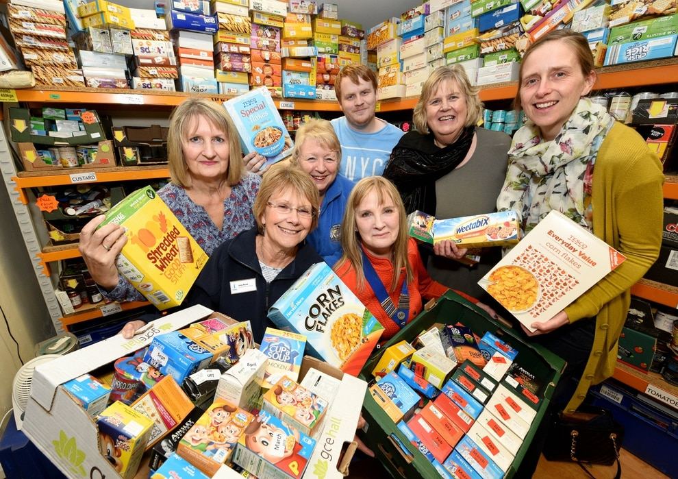 Food Bank Stock On The Up After Generous Donations Express