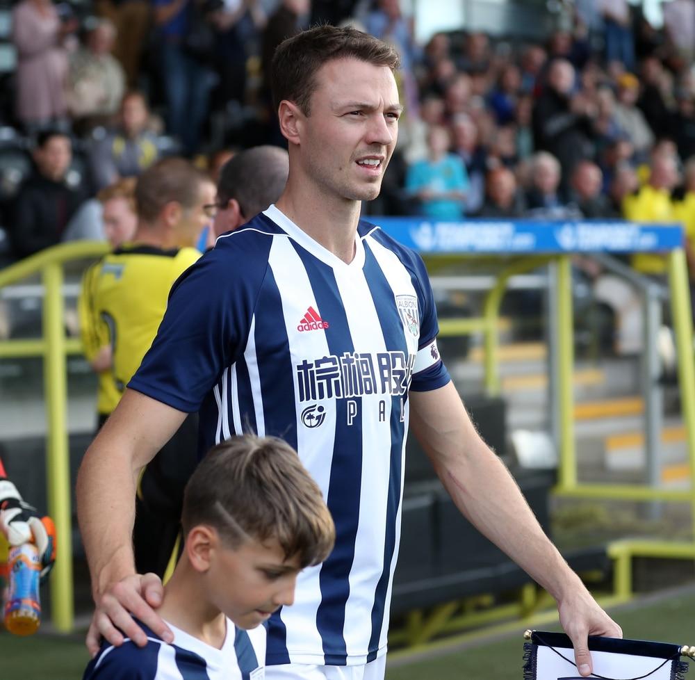 Jonny Evans 'happy' at West Bromwich Albion despite Leicester City interest