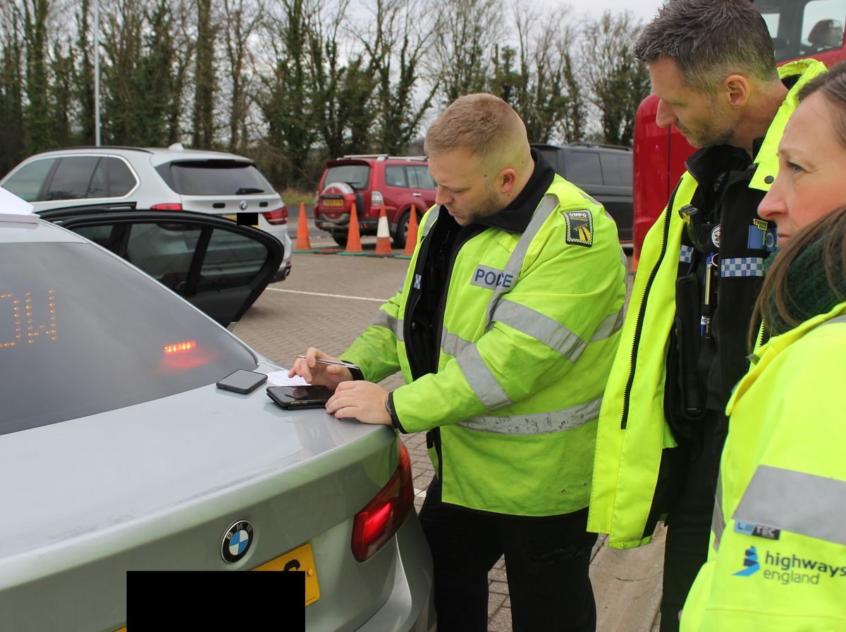 Officers have been cracking down on vehicle defects during an operation