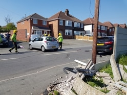 Paramedics called to crash in Dudley