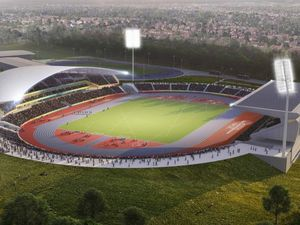 A CGI showing what the Alexander Stadium should look like after the Commonwealth Games. Birmingham City Council