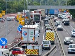 M5 congestion-busting plans to curb Oldbury viaduct roadworks